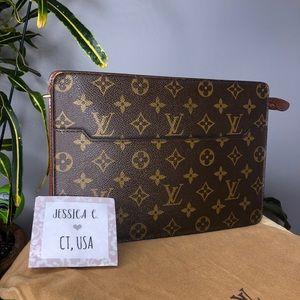Louis Vuitton Pochette Homme Monogram Clutch
